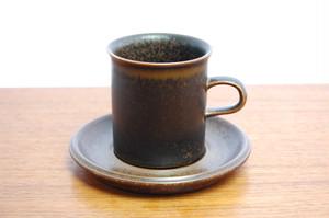 Ruska(ルスカ) コーヒーカップ&ソーサー【E】