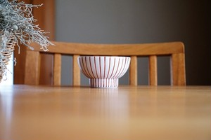 砥部焼/くらわんか茶碗(小)/赤十草/すこし屋