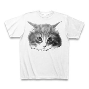ふぇねちゃんBIGフェイスTシャツ モノトーン