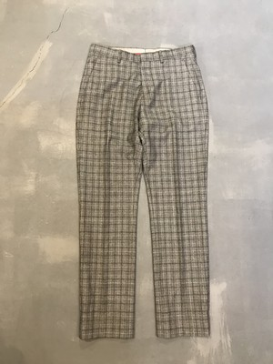 TOMMY HILFIGER Check Slacks / Made in Italy [1552]