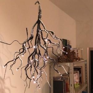 LEDハンギングクリスマス ツリー ブラウン (10/17入荷予定)