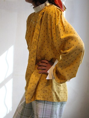 70s smock blouse