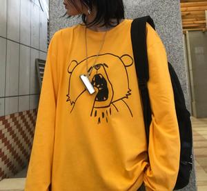 あくび熊さんのTシャツ