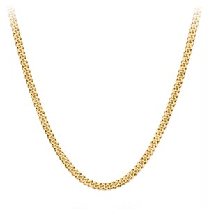 Miami Chain Link Necklace 【3mm/GOLD】