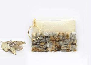 Clara ショルダー&リングクラッチバッグ