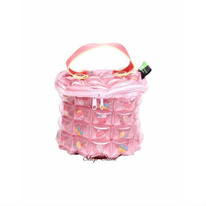 インフラットデコ/inflat Decor ハンディラウンドバッグ (カップケーキ・チェリーブロッサム)
