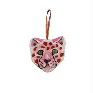 Pinky Leopard Cub Hanger