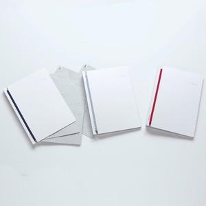 デザイン文具 Log book【白】
