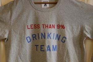 TACOMA FUJI RECORDS / LESS THAN 9% DRINKING TEAM designed by Shuntaro Watanabe