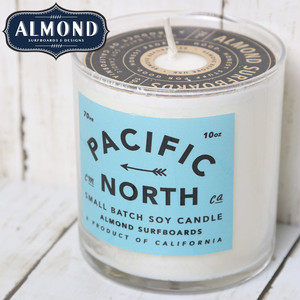 ALMOND アーモンド PACIFIC NORTH SOY CANDLE ソイキャンドル