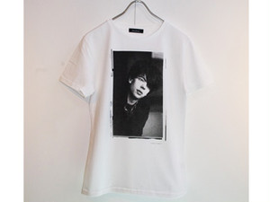 イアン・マッカロクTシャツ〈FUNDOM×HERBIE YAMAGUCHI〉(白)