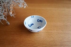 砥部焼/碁笥底小鉢/コケシ/森陶房kaori