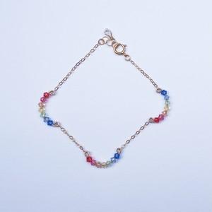Triple Rainbow bracelet