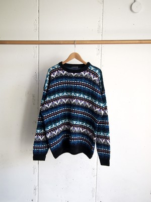 USED / ETCHINGS, cotton knit
