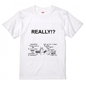 REAL『犬×猿』Tシャツ