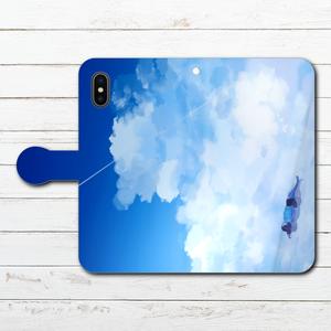 #042-030 手帳型iPhoneケース 手帳型スマホケース 全機種対応 iPhoneX  おしゃれ 人気 Xperia iPhone5/6/6s/7/8 かわいい アニメ柄 Galaxy ARROWS AQUOS HUAWEI Zenfone タイトル:私をさらって 作:澄まし