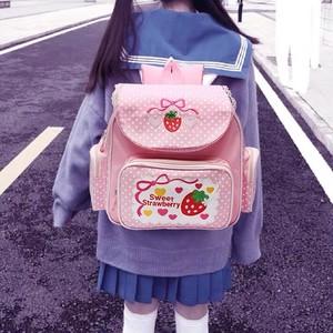 【お取り寄せ】ゆめかわ 幼女 いちごバッグ