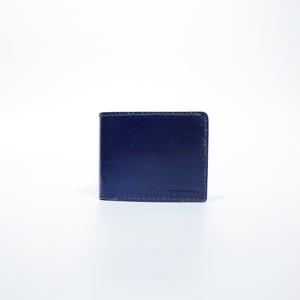 二折財布( ネイビー × ネイビー )