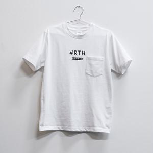 #RTH Tシャツ ホワイト(ステッカー付き)【送料無料】