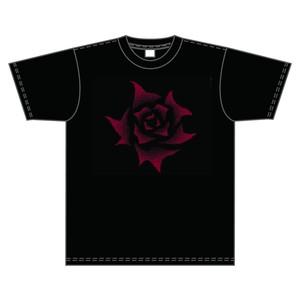ライブな薔薇 Tシャツ