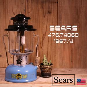 Sears シアーズ ダブルマントル ランタン 476.74060 1967年4月製造 [Y07]