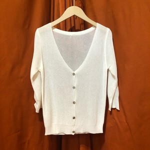 Mesh Cardigan   Color : White