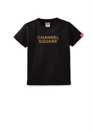 ロゴTシャツ BLACK×SAND