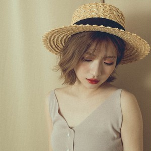 sunflower straw hat (AC75WF003)