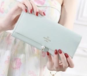 レディースファッション 財布 小物 おしゃれ カジュアル シンプル かわいい カードケース 小銭いれ 長財布★02909