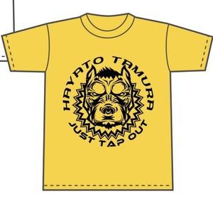田村ハヤト オリジナルTシャツ(黄)