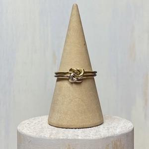 『ムスビ×ムスビ 』SILVER925/Brass(真鍮)製