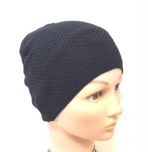 綿の柄織りビニー帽子(C001)