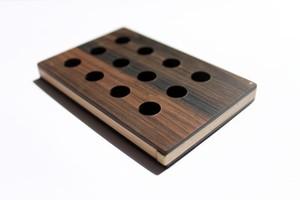 Card case 黒檀