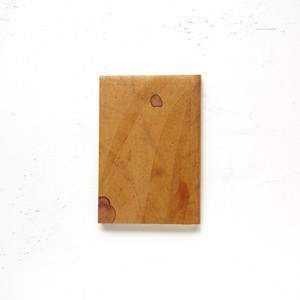 009_草木染めペイント B7 / ノマドノート