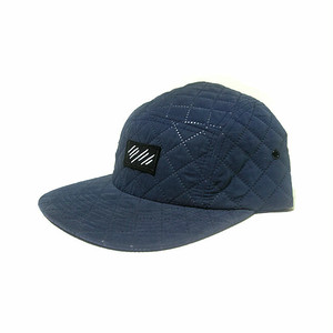 scar /////// BLOOD QUILTING CAMP CAP (Navy)