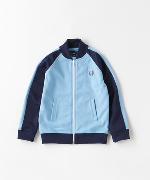 30%OFF ! Kids FRED PERRY Bomber Track Jacket( ALASKAN BLUE Colour ) キッズ フレッドペリー トラックジャケット