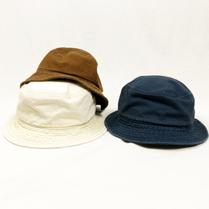 "Nigel Cabourn ""LYBRO"" / Bucket Hat - Duck Canvas"