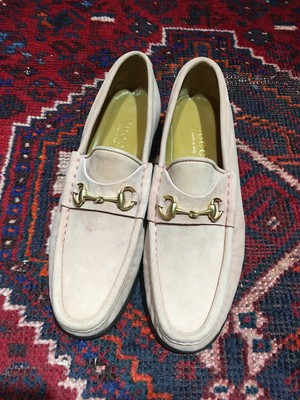 .GUCCI LEATHER HORSE BIT LOAFER MADE IN ITALY/グッチレザーホースビットローファー 2000000033563