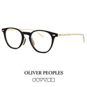 日本製 オリバーピープルズ HANKS-J bkg OLIVER PEOPLES メガネ hanks-j ウェリントン ボストン 眼鏡 メンズ 黒縁