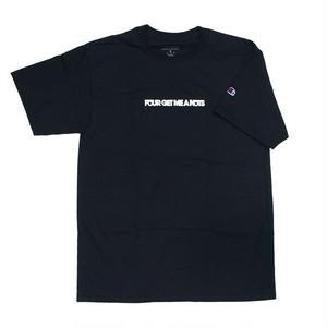 """Initial logo"" T-shirt Black"