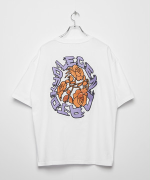 Arch Rose T-shirt [White]