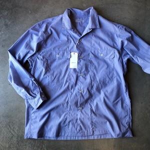 ORDINARY FITS オーディナリーフィッツ エンジニアシャツ ブルー
