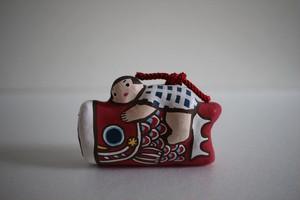 木村幸世(KIMURA&Co.)|こいのぼり土鈴 赤