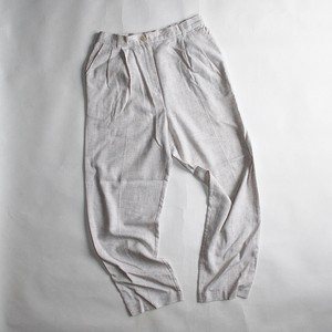 """SUG HARBOR"" Easy tapered slacks"