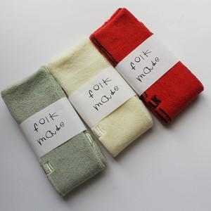 folk made  pile socks  F21AW-034 ※メール便可