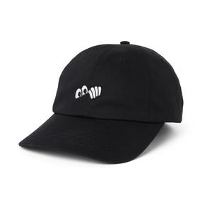 LAST RESORT AB /  EYES 6 PANEL CAP -BLACK-