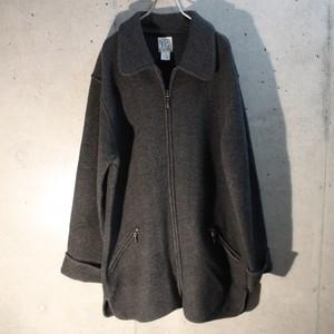 Wool Zip Up Jacket