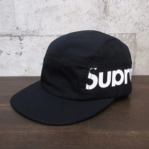 SUPREME 18AW Side Panel Camp Cap