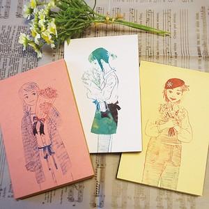 春色*クラフトメモ帳3冊セット【ラッピング無料】