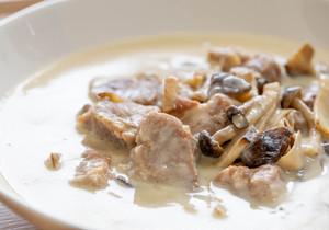 三元豚と4種キノコのクリーム煮 1p400g (2~3人分) 冷凍便